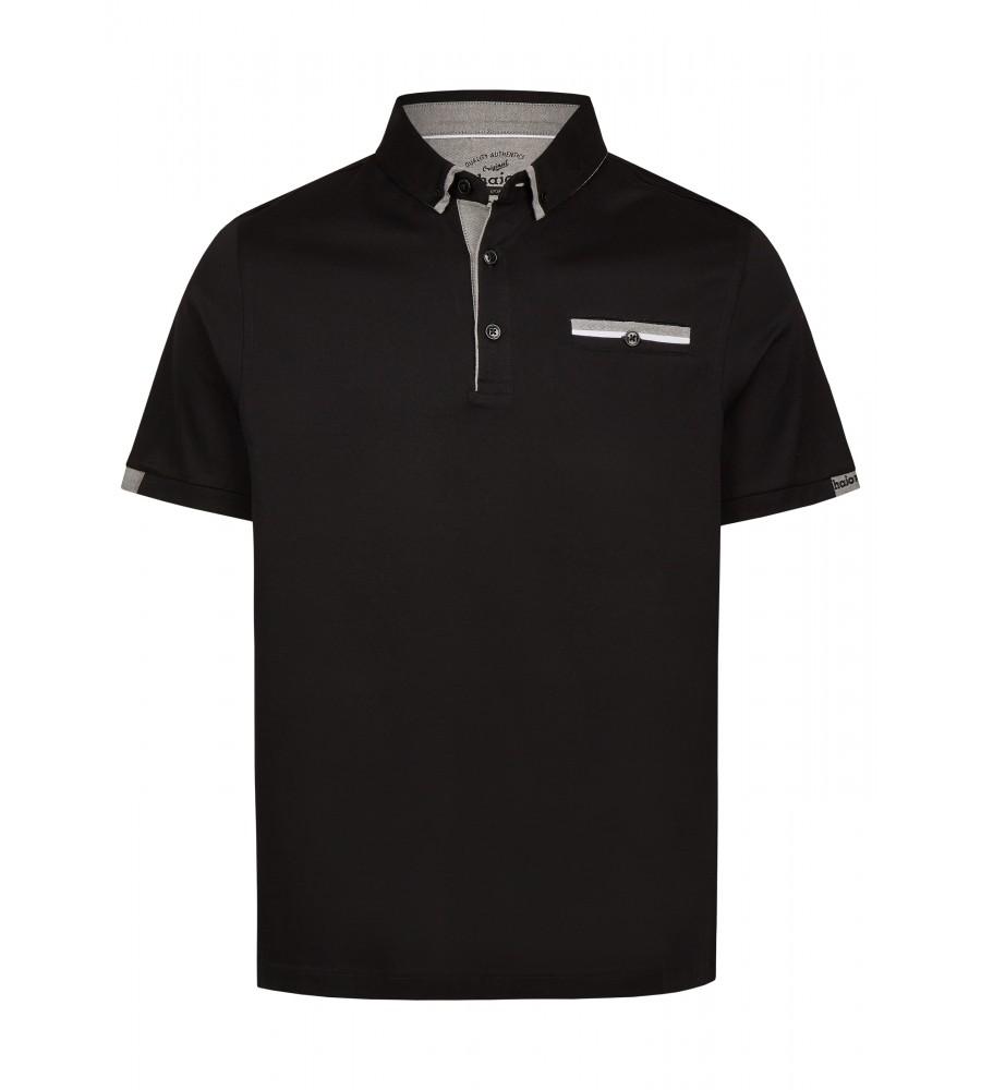 Poloshirt mit schlichten Farbakzenten 26735-100 front