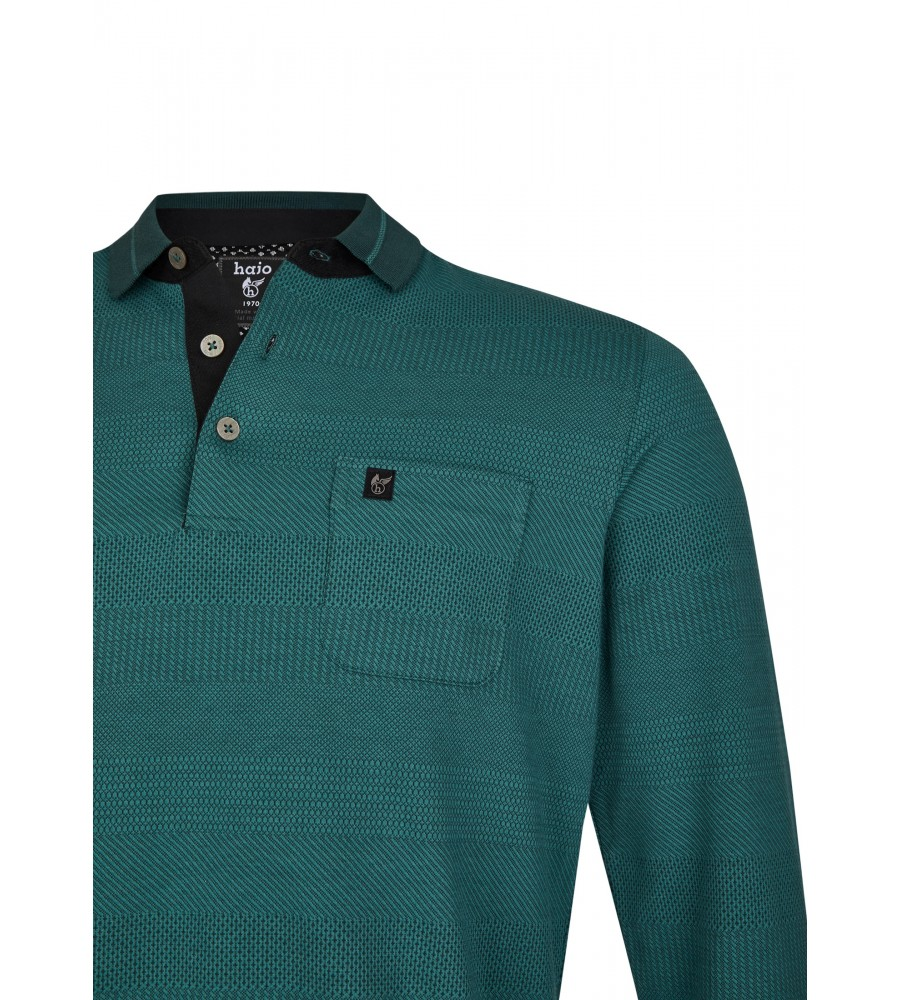 Jacquard-Poloshirt 26746-515 detail1