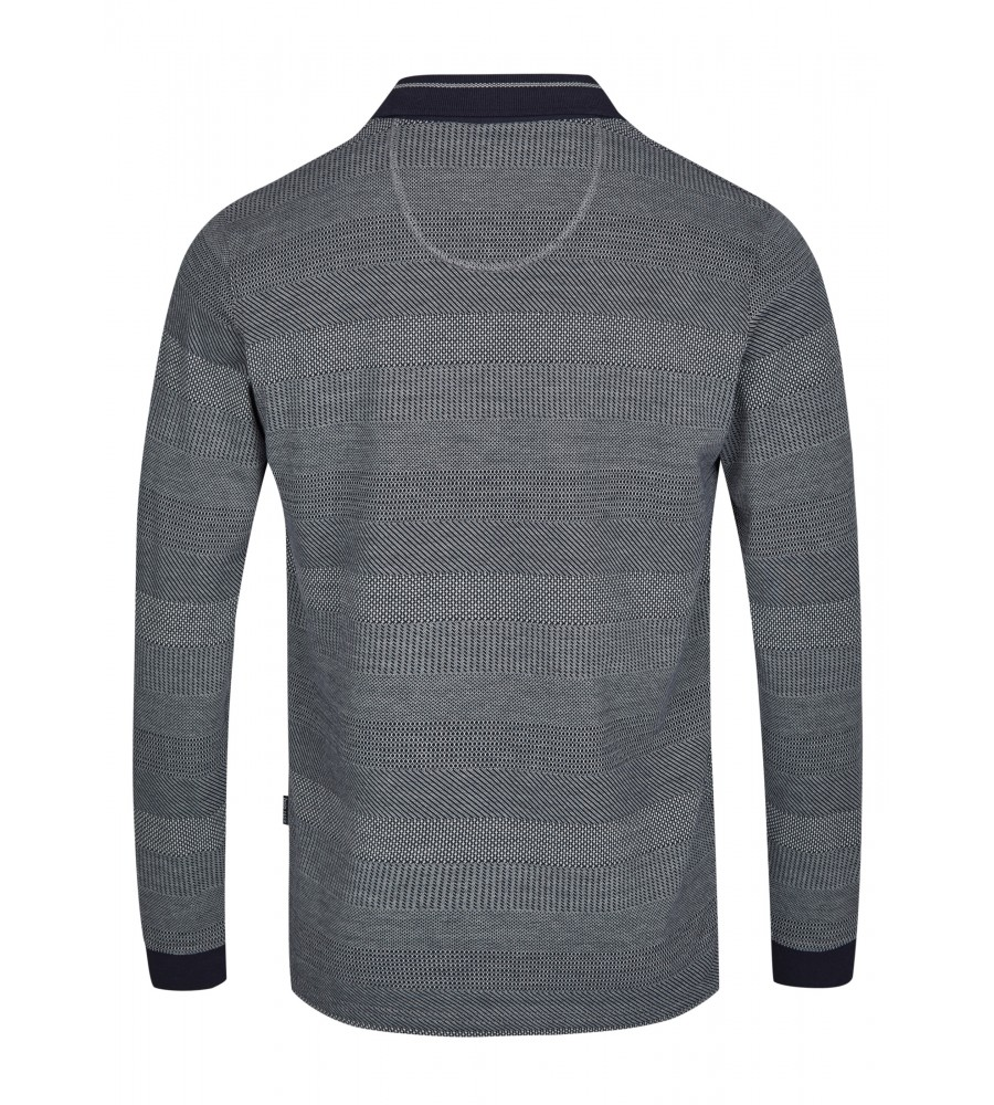 Jacquard-Poloshirt 26746-609 back