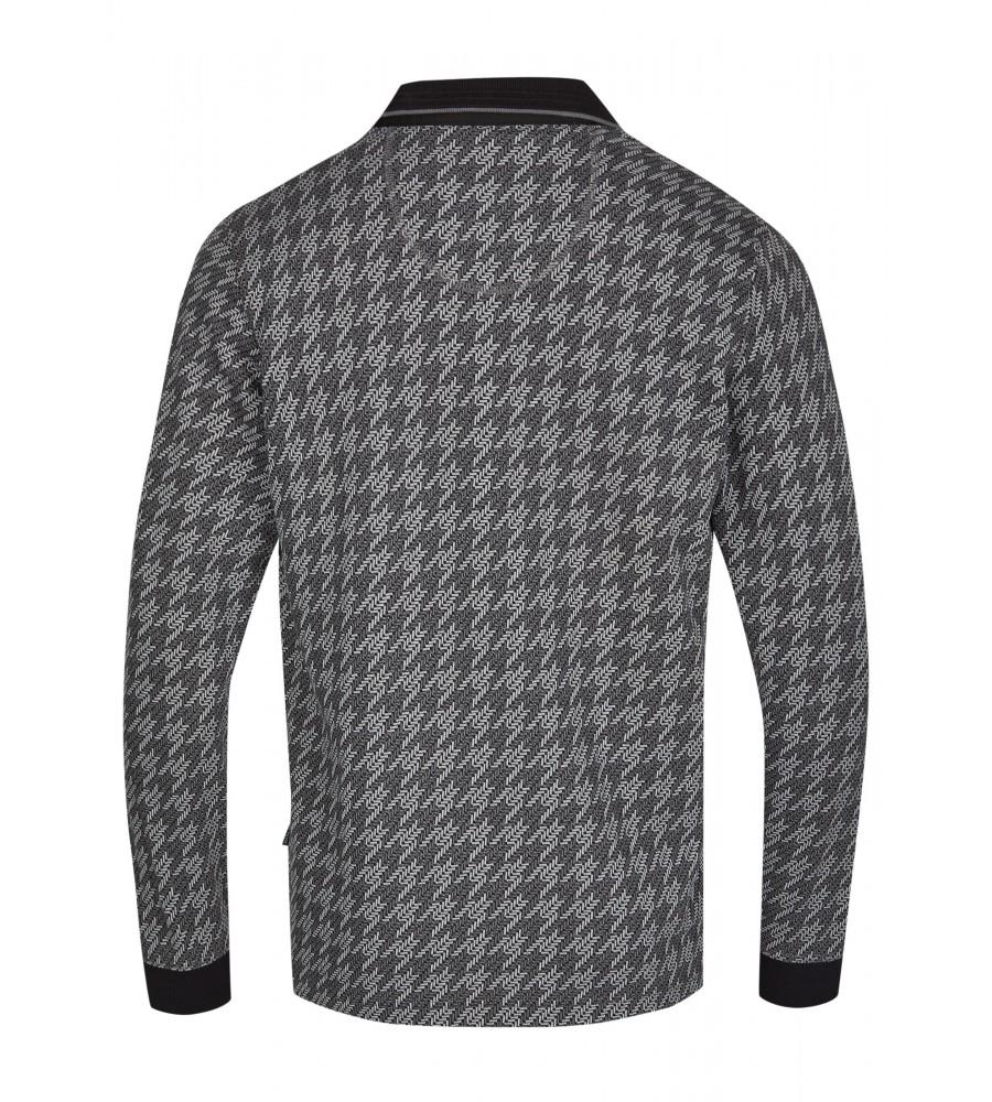 Jacquard-Poloshirt 26748-100 back