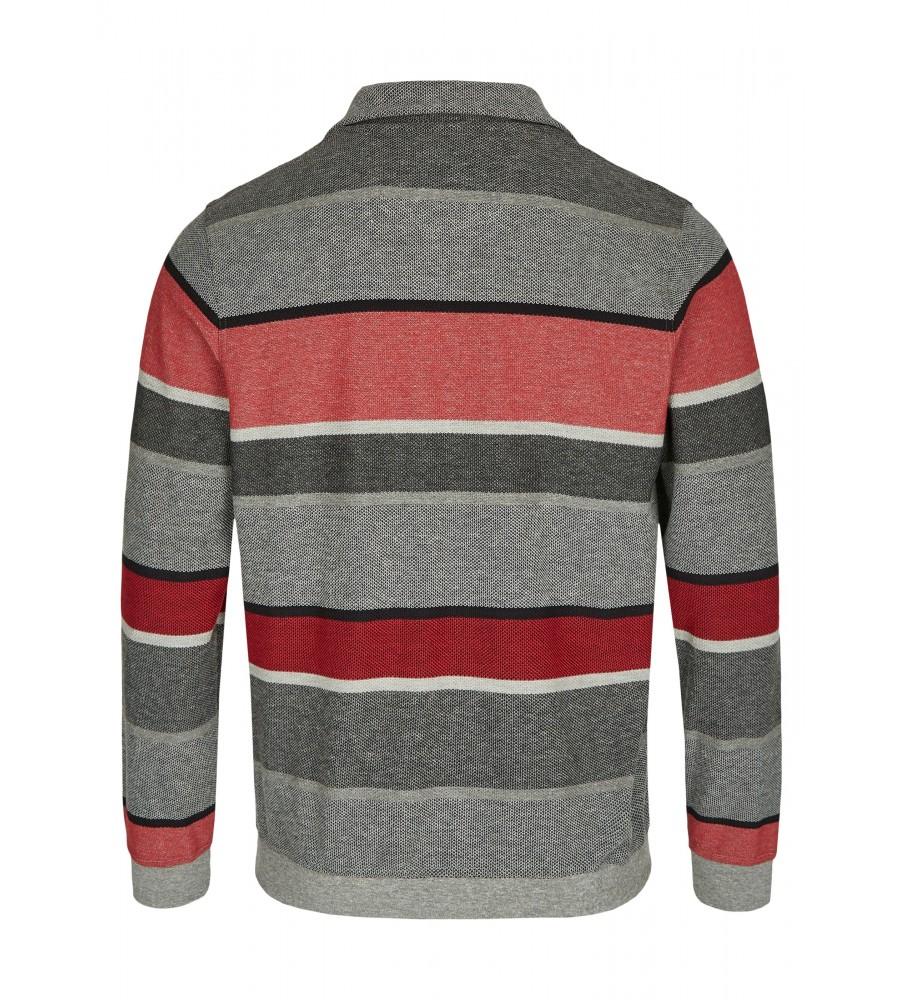 Blockstreifensweatshirt in Pikee 26803-300 back