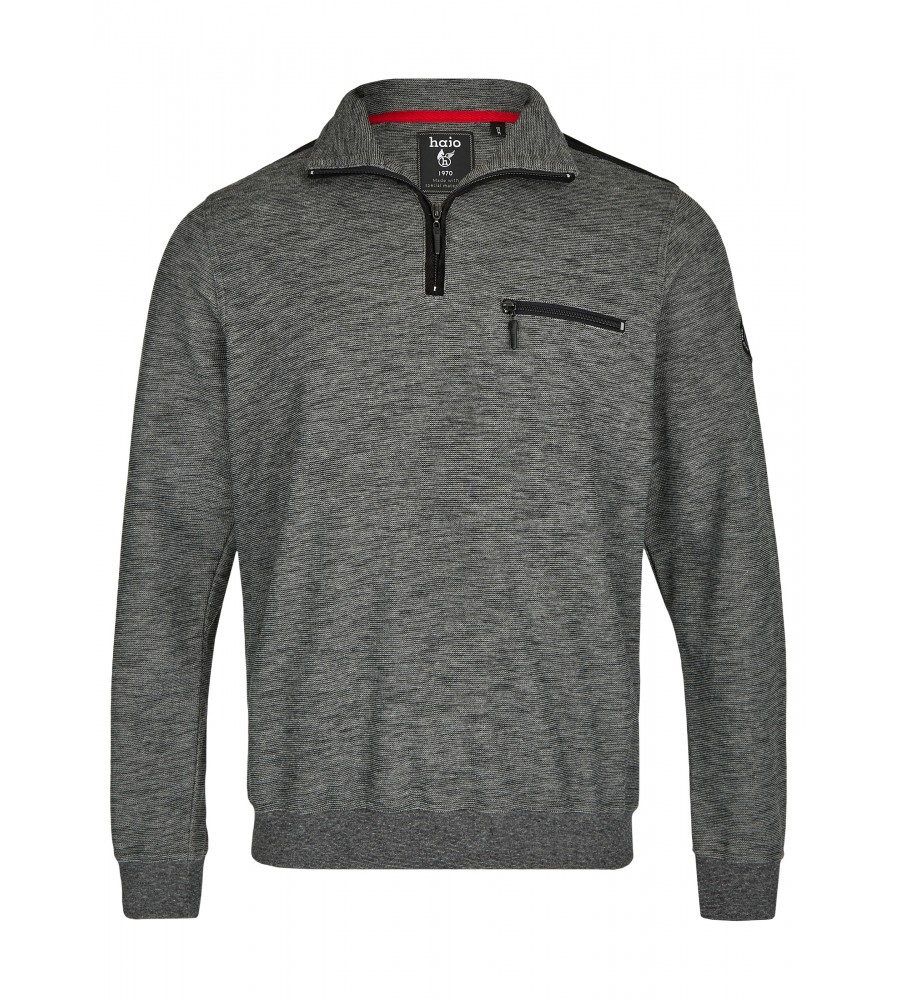 Sweatshirt in Slub-Melange 26807-100 front