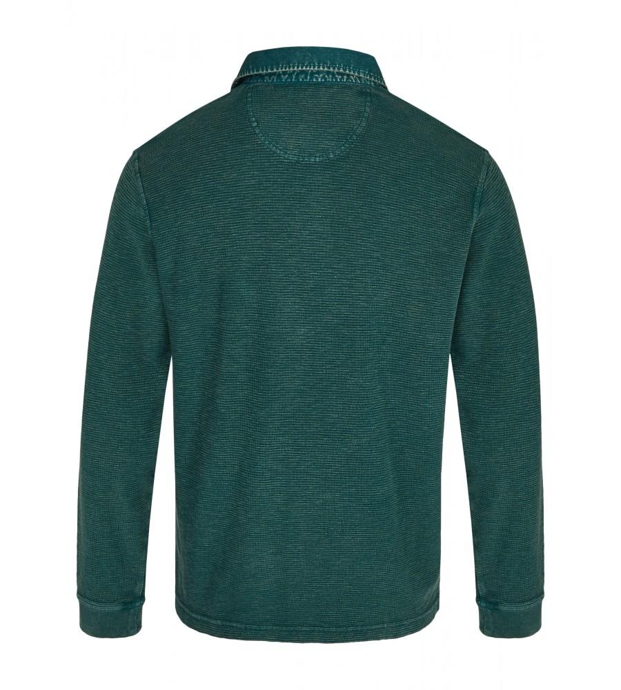 Gewaschenes Polosweatshirt 26822-515 back