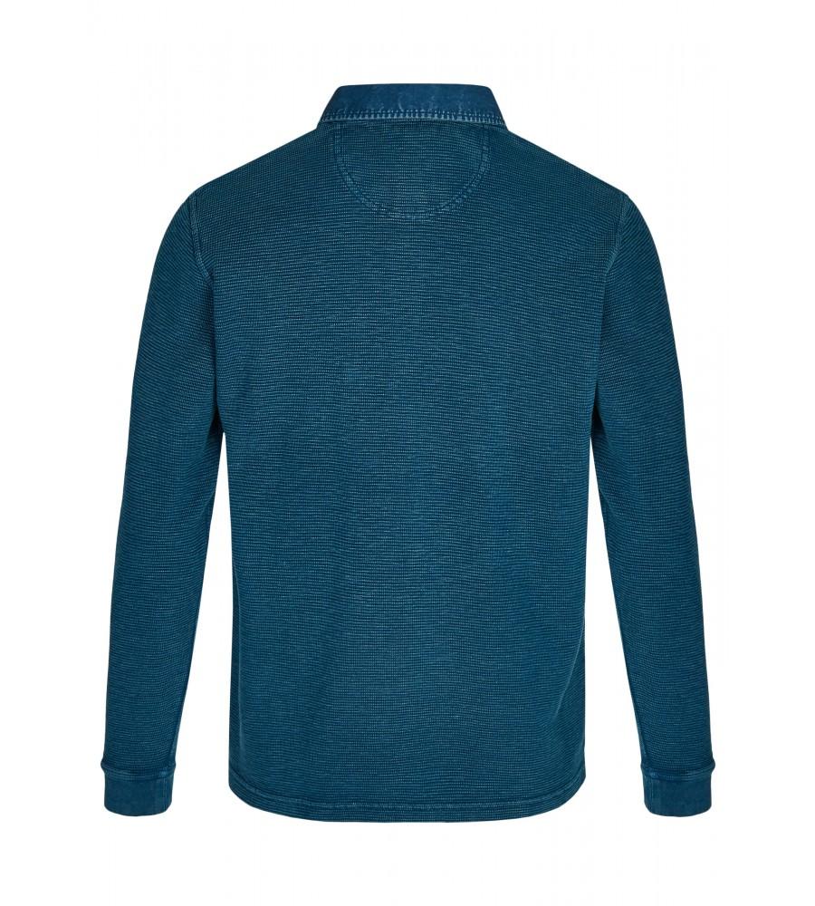 Gewaschenes Polosweatshirt 26822-602 back