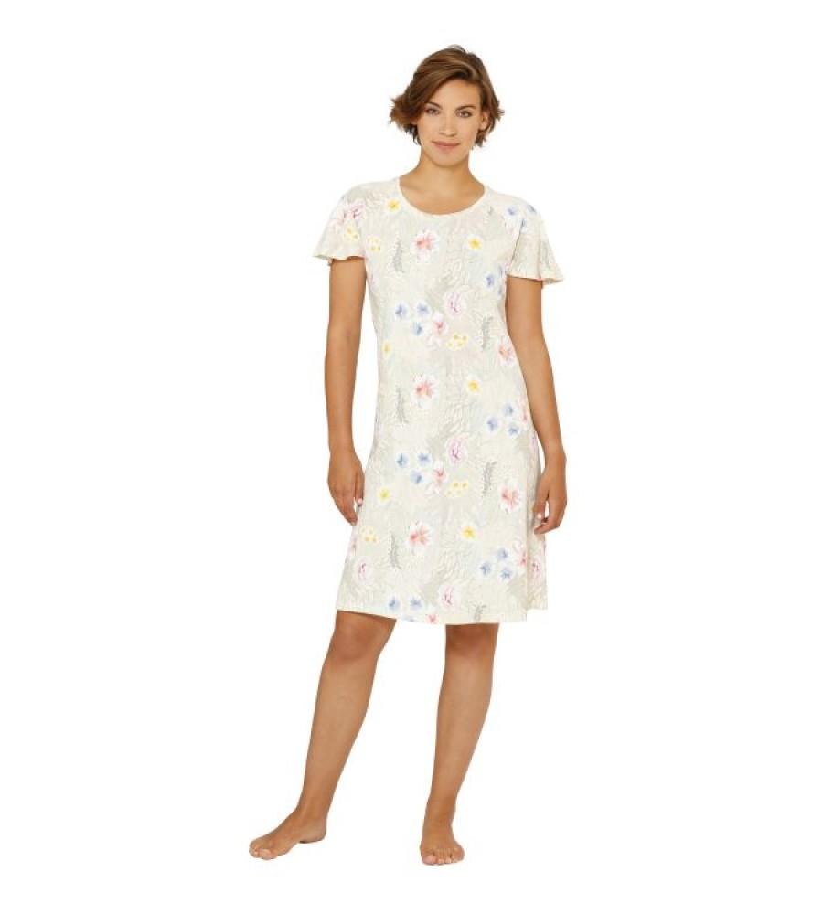 Sleepshirt mit floralem Druck 45079-401 front