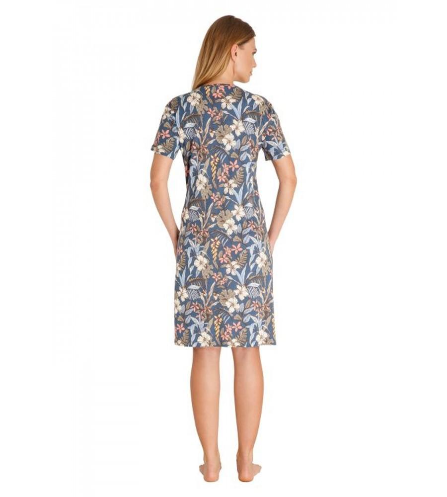 Nachthemd mit Blumenmuster 45277-990 back