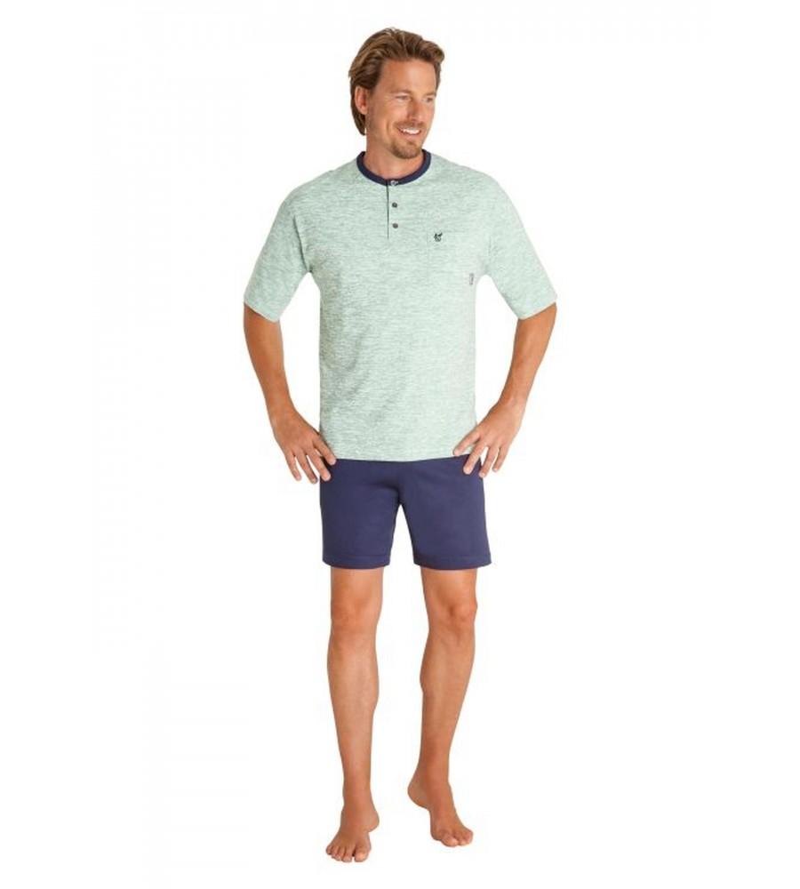 Schlafanzug aus reiner Baumwolle 53302-509 front