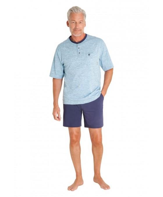 Schlafanzug aus reiner Baumwolle 53302-621 front