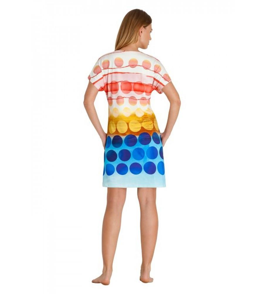 Farbenfrohes Strandkleid 80917-399 back