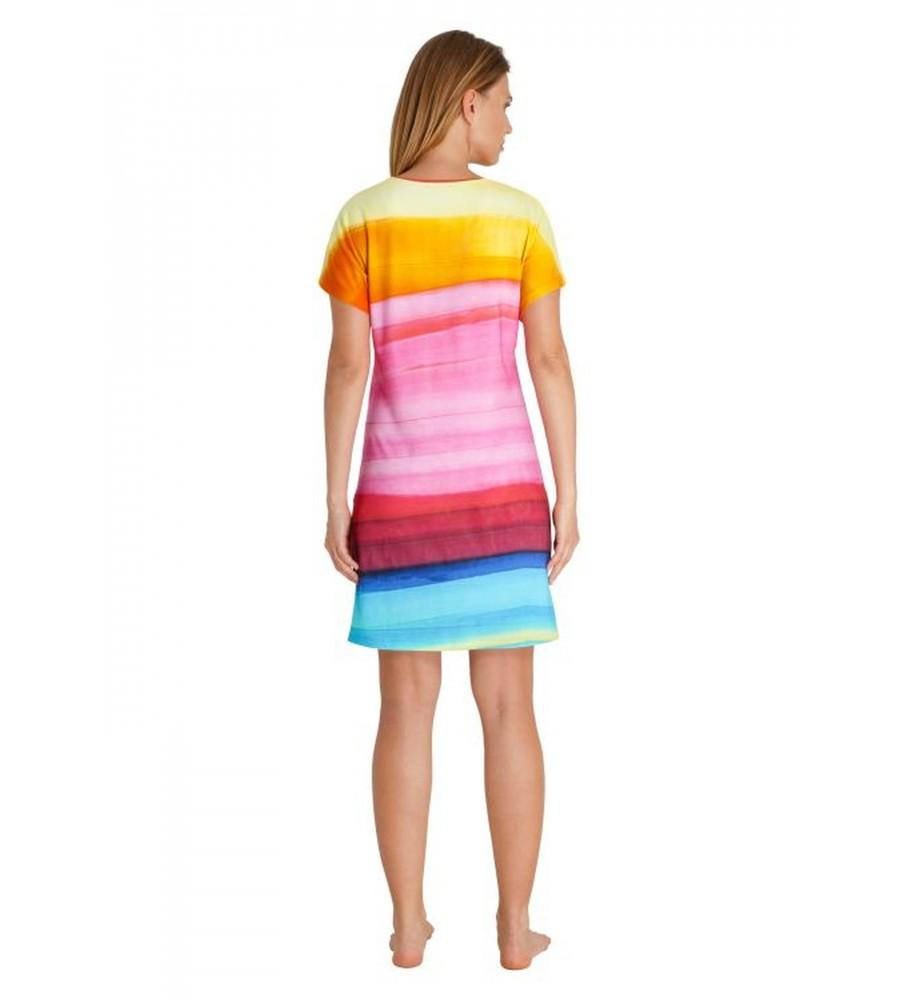 Sommerliches Strandkleid mit Farbverlauf 80918-707 back