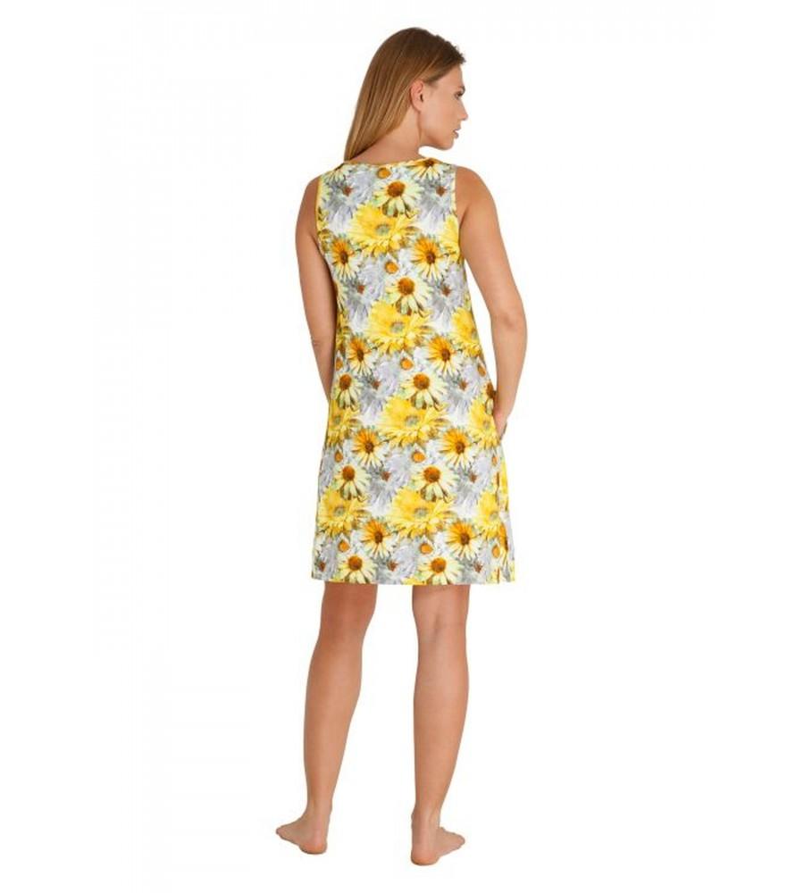 Freundliches Strandkleid mit Blumendruck 80925-400 back