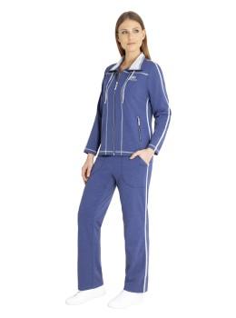 Homewear-Anzug Klima-Komfort uni
