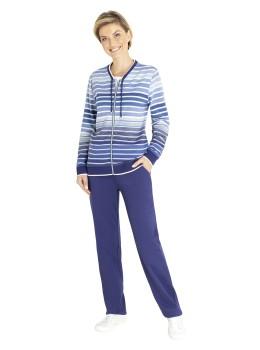 Homewear-Anzug Klima-Komfort