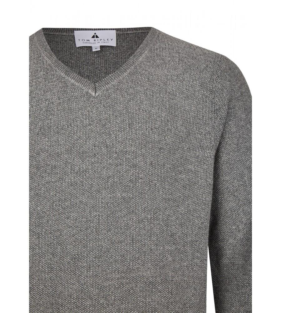 Pullover mit V-Ausschnitt T1003-104 detail1