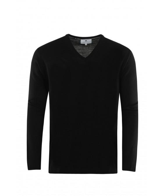 Pullover mit V-Ausschnitt T1005-100 front