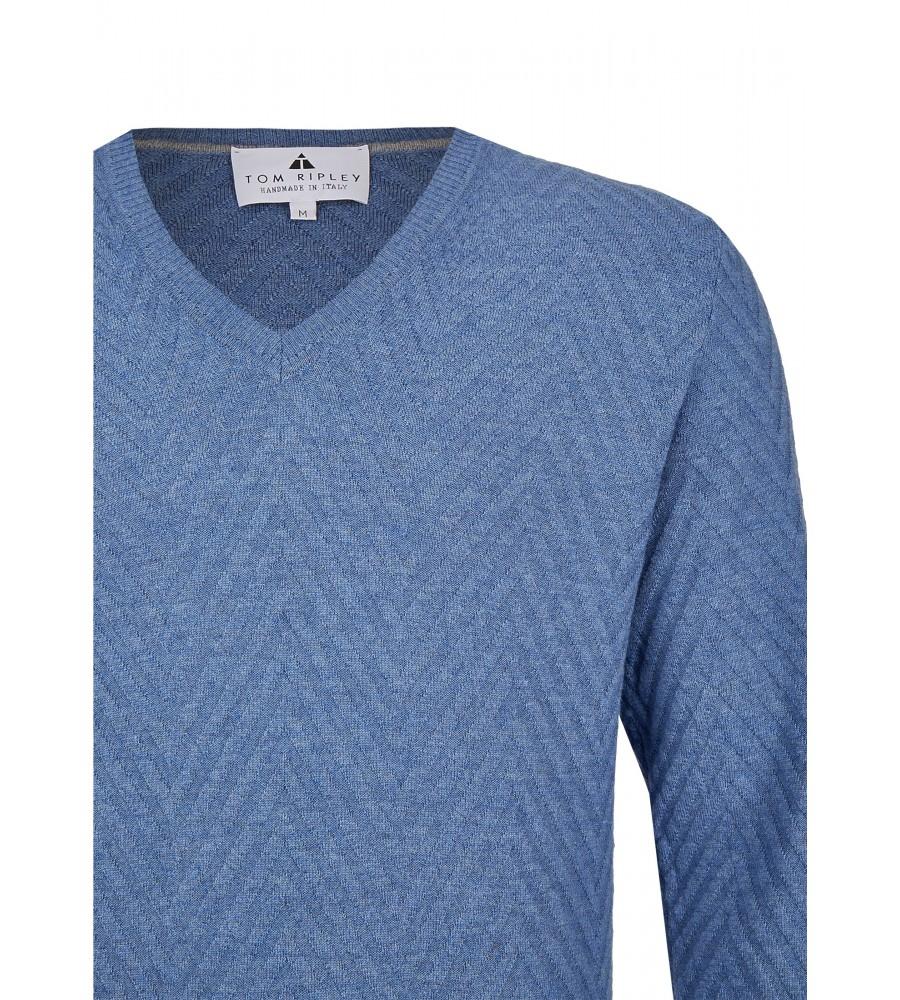 Pullover mit V-Ausschnitt T1008-654 detail1